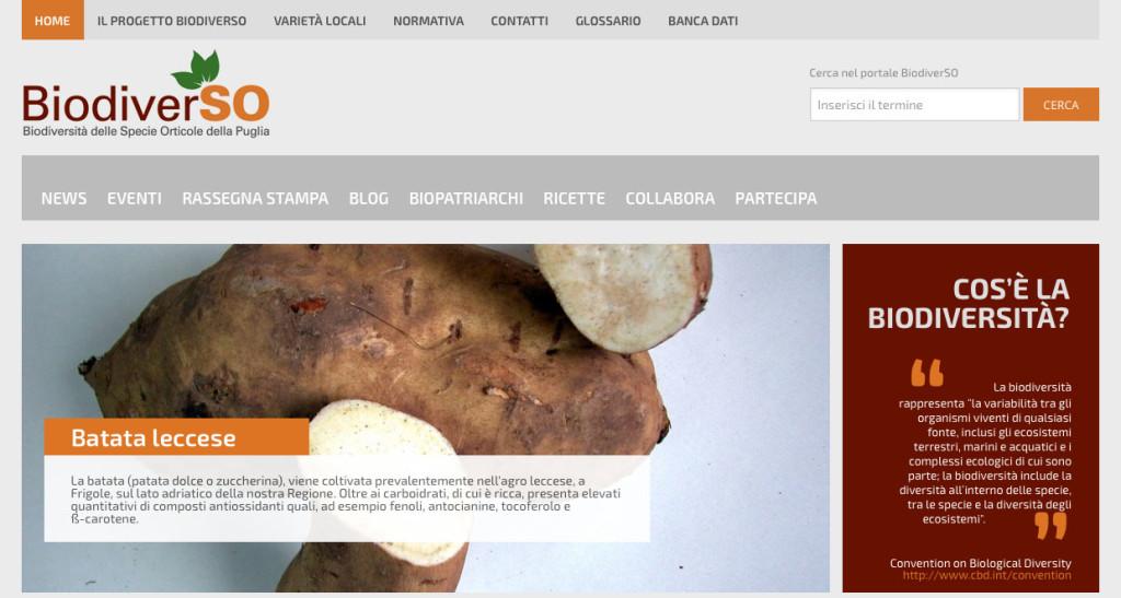 Home page sito