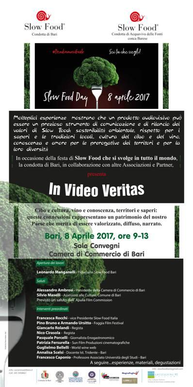 Locandina Slow Food 8 aprile