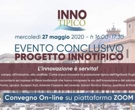Progetto INNOTIPICO – Convegno online sull'innovazione dei prodotti tradizionali pugliesi