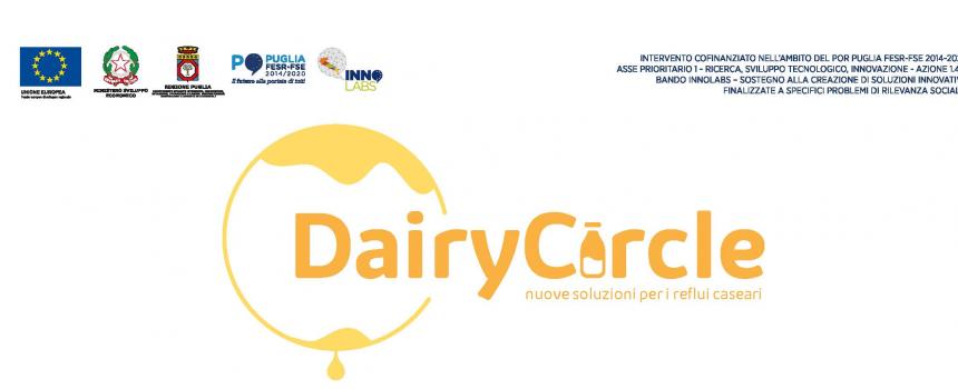 IL PROGETTO Dairy-Waste Innogest : MODELLO GESTIONALE INNOVATIVO PER UNA GESTIONE SOSTENIBILE DEI REFLUI LATTIERO CASEARI